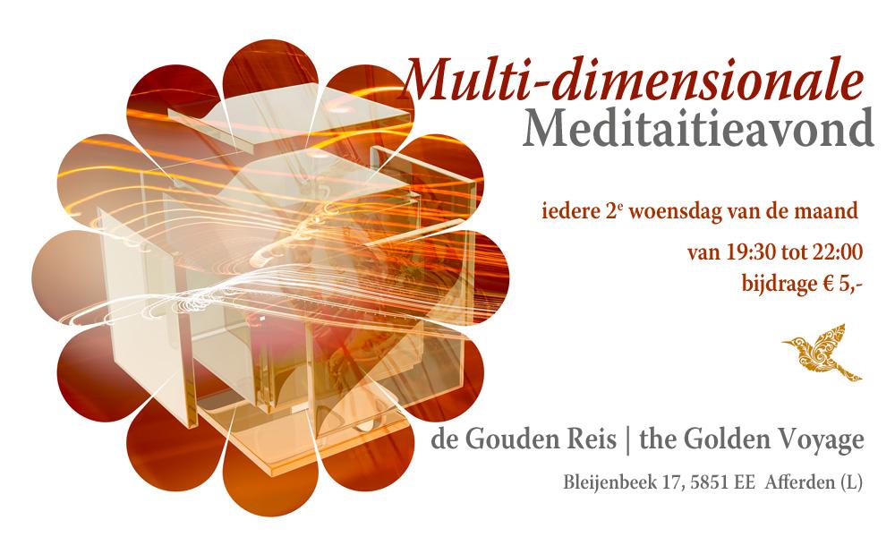 multi-dimensionale meditatieavond